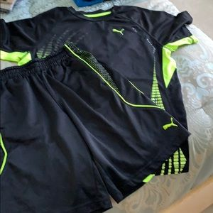 Boys Puma set  size medium